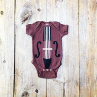Baby Violin or Cello Onesuit.  The Yo Ma Ma.