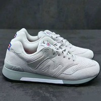 New Balance Fashion Trending Sneakers Running Sports Shoes White G-XYXY-FTQ