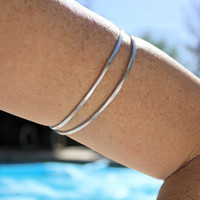 Upper Arm Bracelet Silverie Wrap