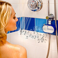 H2O Water Powered Shower Radio - This innovative gadget easily attaches to your existing shower hose and allows you to enjoy the pleasure of FM radio in your shower without using batteries - LatestBuy Australia