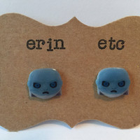 Handmade Plastic Fandom Earrings - Game of Thrones - White Walkers
