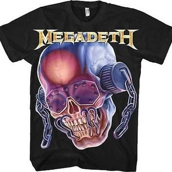 MEGADETH Jumbo Vic SHIRT M L XL Heavy Metal Official T-Shirt Tshirt NEW