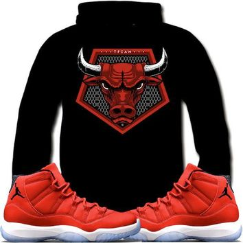 Jordan Retro 11 Win Like 96 Sneaker Hoodie - BULLY 96