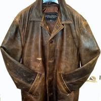 SUPERNATURAL: Dean Winchester's Leather Jacket. Replica, Prop.