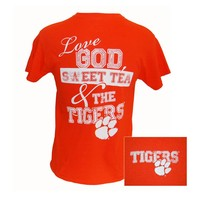Palmetto Moon | Clemson God and Tea T-Shirt