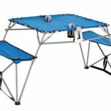 Fold-up Table - Royal Blue