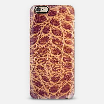 brown leather iPhone 6 case by Sylvia Cook | Casetify
