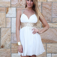 Golden Moment Dress