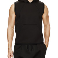 Raglan Hooded Vest