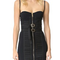 Military Bustier Dress