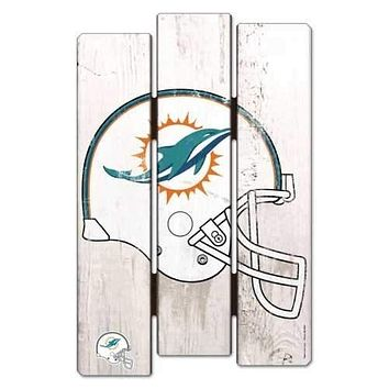 Miami Dolphins Defense 11x17 Wood Sign