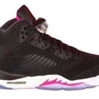 qiyif Toddler Air Jordan 5 Retro Deadly Pink