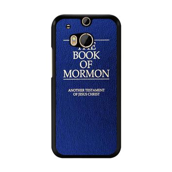 The Book Of Mormon Cover Book HTC M8 Case