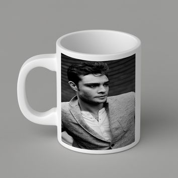 Gift Mugs | Chuck_Bass_Greyscale Ceramic Coffee Mugs