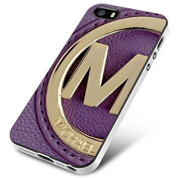 MK MICHAEL KORS Purple iPhone 5 | 5S | 5SE Case Planetscase.com