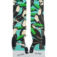 Toucan Bird-Custom Nike Elite Socks-Socktimus Prime