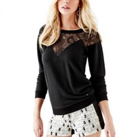 Toledo Lace Fleece Sweater