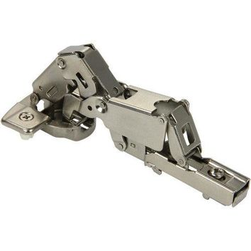 165 ° Angle Concealed Hinge Cabinet Hardware 1 Pair Door w Mounting Plate