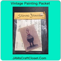 Vintage Painting Packet #5 Cowboy Duck