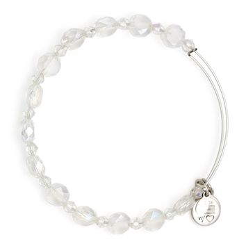 Ice Flare Beaded Bangle | Alex and Ani