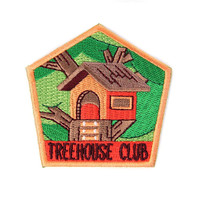 Treehouse Club Patch