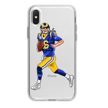 JARED GOFF RAMS CUSTOM IPHONE CASE