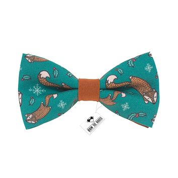 Brown Squirrels Bow Tie