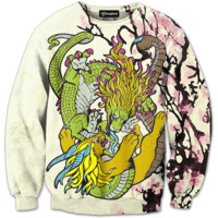 Tiger and Dragon Crewneck