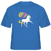 Taylor Swift Unicorn Haters Gonna Hate Royal Blue T Shirt