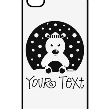 Personalized Matching Polar Bear Family Design - Your Text iPhone 4 / 4S Case  by TooLoud