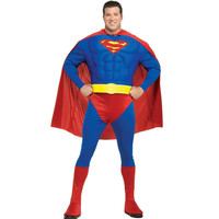 Muscle Chest Superman Adult Plus Costume