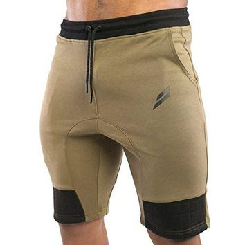 Men's Gym Shorts Joggers Workout Running Bodybuilding Shorts Joggers with Pockets