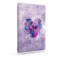 "Nick Atkinson ""Painted Heart""  Outdoor Canvas Wall Art"