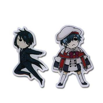 Ciel & Sebastian - Mini Pin Set - Black Butler