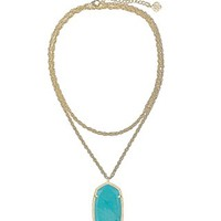 Rae Necklace in Turquoise Magnesite - Kendra Scott Jewelry