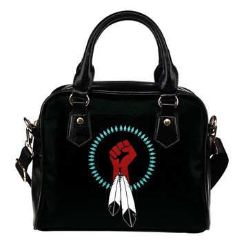 United Native Nations Shoulder Handbag