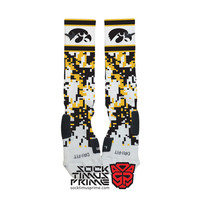 Custom Nike Elite Socks - Iowa Hawkeyes Custom Nike Elites - University of Iowa, Custom Elites, Nike Socks, Iowa Socks, Iowa Football