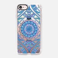Radiant Boho Color Play on transparent iPhone 7 Case by Micklyn Le Feuvre | Casetify