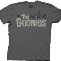 Ripple Junction Goonies Movie Logo Adult T-Shirt