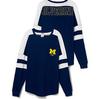University of Michigan Varsity Pocket Crew - PINK - Victoria's Secret