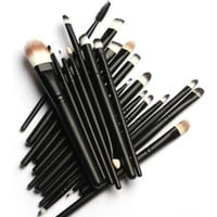 20 PC Premium Pro Makeup Essentials Brush Set