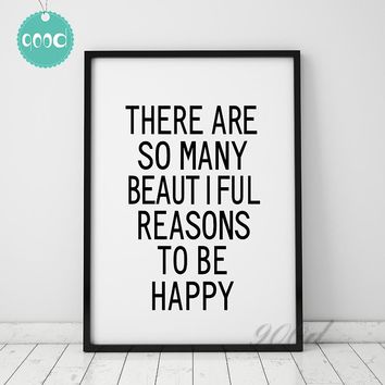 Inspiration Quote Canvas Art Print Painting Poster, Wall Pictures For Living Room Decoration, Wall Decor FA040
