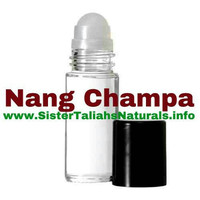 Nang Champa unisex all natural fragrance body oil for men women teens oil burner great smell free shipping non irritating