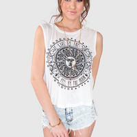 We Live By The Sun + Moon Top