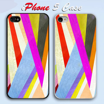 Abstract Geometric  Custom iPhone 5 Case Cover