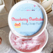 Strawberry Shortcake Whipped Body Soap Fluff 8oz
