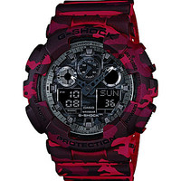 G-Shock Full Camo Red Analog/Digital Watch - Red