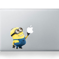 Despicable Me -- Mac Decal Mac Sticker Macbook Decals Macbook Stickers  Vinyl Decal for Apple Laptop Macbook Pro / Macbook Air / iPad