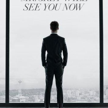 Fifty Shades Of Grey movie poster Sign 8in x 12in