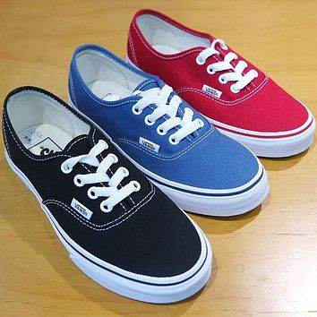 Vans Classic Authentic Fashion Casual Running  Canvas Sneakers G